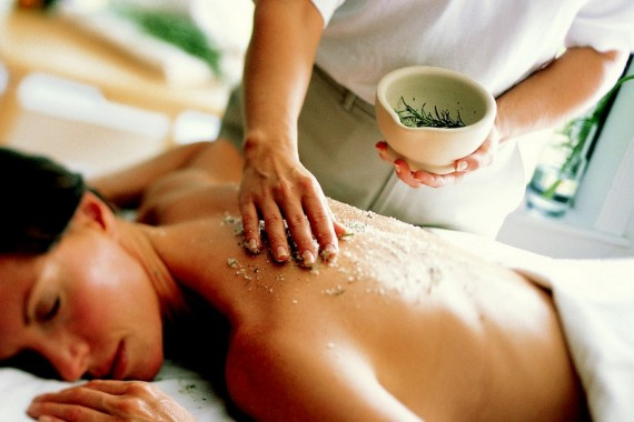Spa Body Peeling